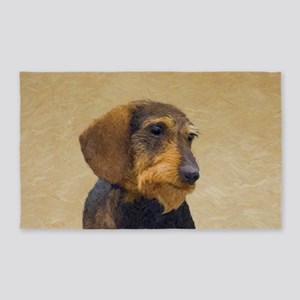 Dachshund (Wirehaired) Area Rug